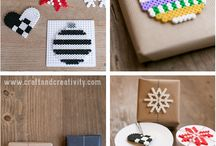 Hama beads christmas patterns