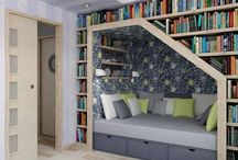 Nooks and Crannies / I love homes with nooks and crannies.  Reading nooks, craft nooks, little hidey holes for the kids.  You name it.