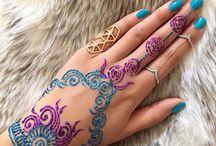Tetování henou