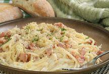 Špagety carbonara