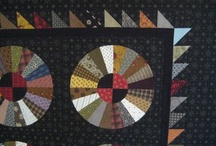 Quilts - Amish / dark ground / by Macareux Moine