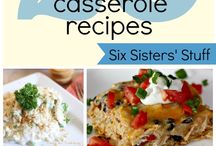 Casserole's for my Casserole / by Linda Cunningham Thomas