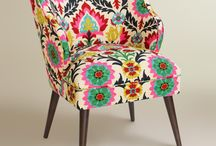 Refurb Accent Chair / Mostly for fabrics I like, and some fabric-finish combos.