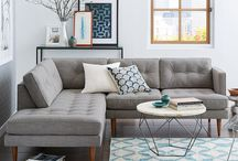 Mid Century Modern Home / How to create a Mid Century Modern + Rustic Home while keeping it cozy and comfortable.