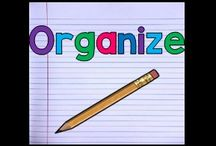 Organize / A Collection of Ideas on Classroom Organization
