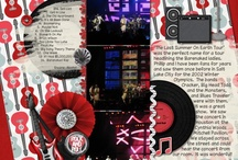 Digi Scrapping Our Lives / My digital scrapbooking layouts