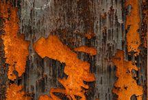 •  Orange