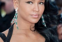 Cassie - Hair Hero (The undercut) / Bold, fierce, edgy and still beautifully feminine, we love love love the undercut especially on the beauty that is Cassie Ventura. This months hair hero shows you that you can mix natural hair with lush long lengths and turn heads wherever you go. Cassie, its a big salute from us!
