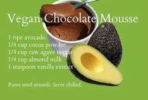 Healthy vegan desserts / Vegan desserts