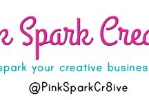 Pink Spark Creative / We're here to spark your creative business!  Creative business consulting, workshops and more!