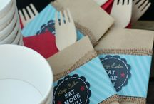 PARTY: Chili Bar / Crafts, printables, recipes, and party to host the ultimate and  EXTRAORDINARY chili bar party.
