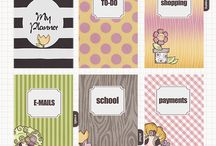 Planner Printables / I love planners and I decided make them