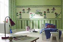 tapety do pokojíčku, ekologické barvy