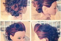 Pin up short hairstyles