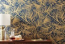 """Wallpaper and Paints / """"Wallpaper and Paint Give Your Home Character."""" - Barbara Segal"""