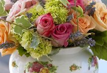 Flower arrangements / Flowers, gardening / by Jackie Wells