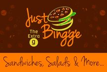 Just Bing'g'e : The Beginning / Its our story of small beginnings, ideas, mess-ups, insignia, people, products, launch, ...the story begins!