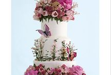 floral cake-fondant