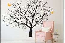 Wallstickers tress