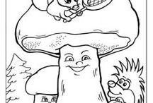 houby, les