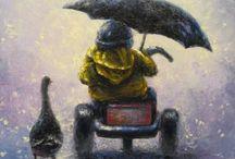 Umbrellas / by Melinda Jancewicz