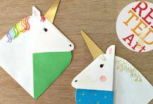 Unicorn Crafts & Unicorn Activities