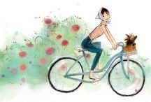 Bicycle illustrations / by Cyclechic Ltd