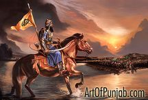 Banda Singh Bahadur - Sava Lakh Khalsa / Renowned Sikh painter Kanwar Singh (artofpunjab.com) has been creating exceptional paintings exclusively devoted to the Sikh religion and history for over ten years. His work is continually exhibited world-wide in prominent heritage sites such as the Virasat-e-Khalsa museum at Anandpur Sahib. Visit the artist's online gallery to see his sought after paintings and select affordable fine art prints for your own home or to be presented as a unique gift.