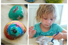 Summer holiday Activities / How to have a more crafty beach holiday. Activities to keep the children busy on summer holidays! Outdoor ideas to keep the children entertained!