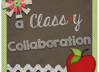a Class-y Collaboration / A NEW collaborative blog with GREAT friends!