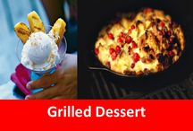 Grilled Desserts / Think that only meat and veggies can be grilled? The entire meal can be cooked on the grill, using grilling planks or the grill itself. Try out some of these delicious treats!