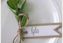 Bryllups inspiration/ideer