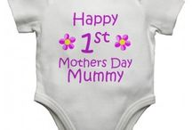 Mothers Day Baby Vests / The best mothers day baby vests around.  Come take a look at www.littleratbag.co.uk