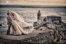 """Salvatore and Valentina, the winners of """"Cleofe Finati brides and grooms 2016"""""""