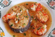 Pescados y Mariscos / Recetas y Vídeos: http://www.cocina-casera.com/search/label/PESCADOS%20Y%20MARISCOS