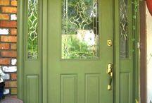 Front doors Everton