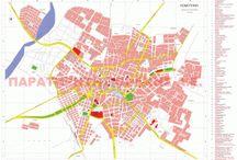 χάρτης Κομοτηνής