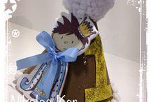 Handmade Birthday Hat / www.nikolas-ker.gr