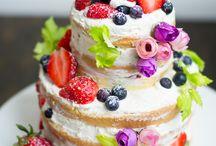 *Naked cake*