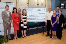 Valero Energy Presented a $500,000 Gift to the Texas State Aquarium