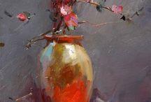 """""""Flowerful"""" Paintings"""