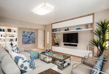 2id Interiors  South Beach / Extreme makeover combining 2 small condos as one amazing Ocean front vacation home.