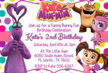 Kate & Mim Mim Birthday Party Ideas