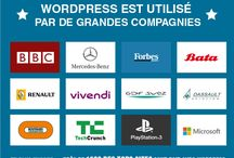 Web Webdesign Wordpress / Infographies pour le Web, template Wordpress et inspiration en webdesign