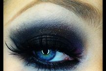 Smoky eye  blue eyes