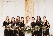 Yolandi bridal party