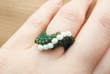 Δαχτυλίδια - Rings / ...με χάντρες