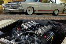 Blower Super charger e motor V8