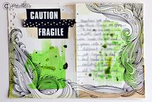 Art : Doodle Journaling / This board focuses on doodle journaling or art journaling that has more of a focus on doodling instead of the mixed media technique. Be sure to check out my doodle inspiration board and the journaling inspiration board for more art journaling.