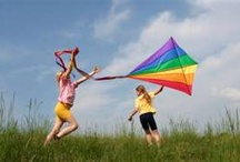 Go Fly a Kite! / One of my fondest memories is of flying a kite on the beach in San Diego.  I think any day you get to fly a kite is a special one! / by Ann Welker